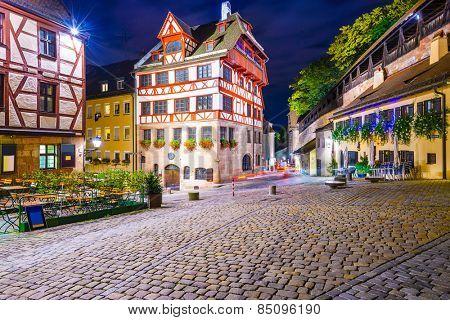 Nuremberg, Germany at the Albrecht Durer House.