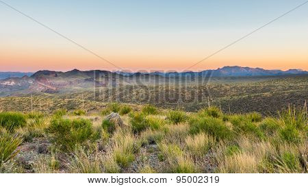 Chisos Mountains, Sotol  Vista, Big Bend National Park, TX