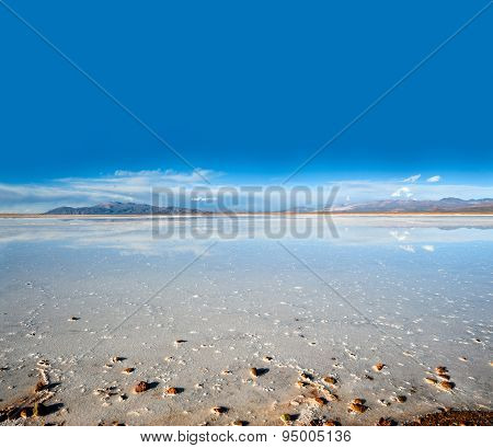 Salinas Grandes On Argentina Andes Is A Salt Desert In The Jujuy Province