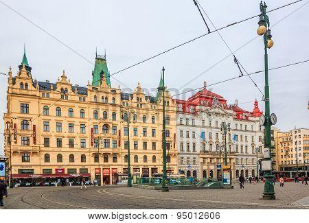 Prague City Center Namesti Republiky