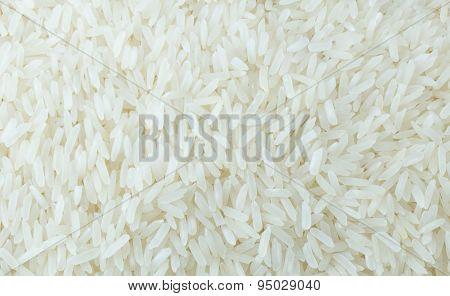 Close Up Of Thai Jasmine Rice Background