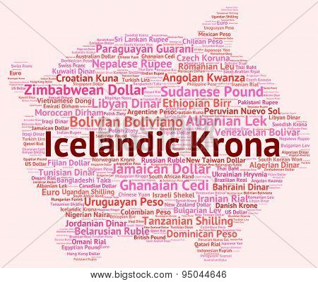Icelandic Krona Means Exchange Rate And Broker