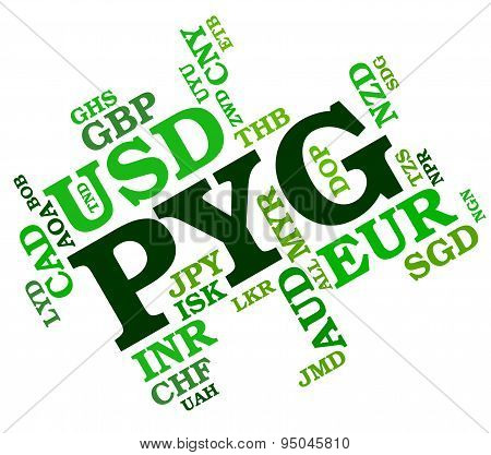 Pyg Currency Shows Foreign Exchange And Coin