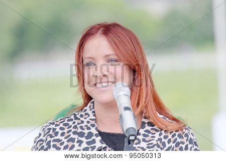The Swedish Singing Artist Shirley Clamp