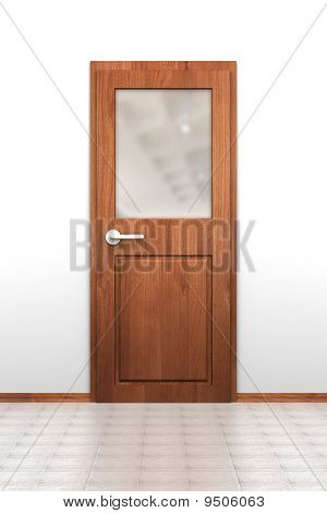 Door With Opaque Window