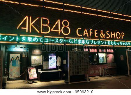 AKB 48 Akihabara night Tokyo Japan