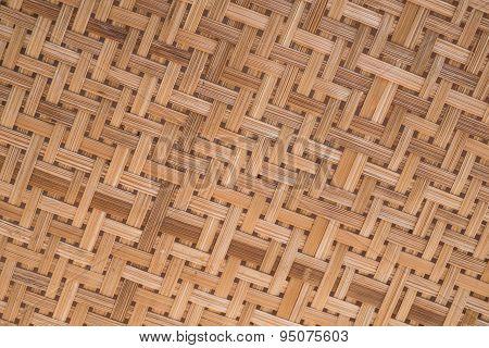Rattan texture
