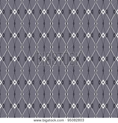 Elegant Abstract Seamless Pattern Of Rhombuses