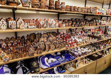 Souvenir Shop In Tallinn