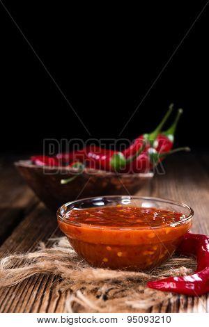 Chili Sauce (sambal Oelek)