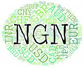 Ngn Currency Meaning Nigerian Nairas And Coinage poster