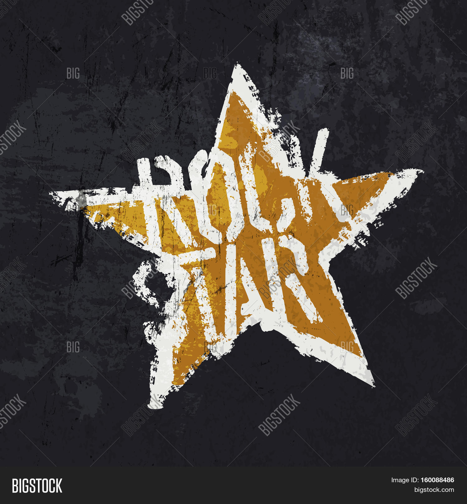 Grunge Rockstar Image Photo Free Trial Bigstock