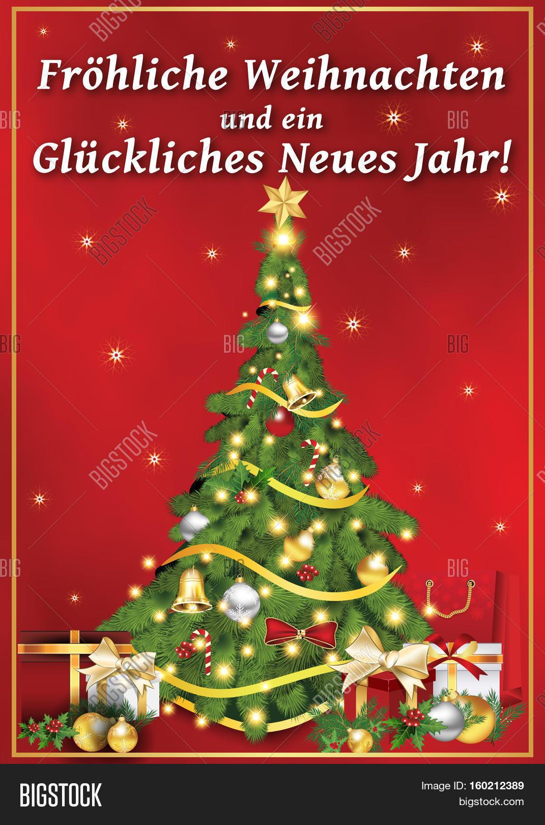 Frohliche Weihnachten Image & Photo (Free Trial) | Bigstock