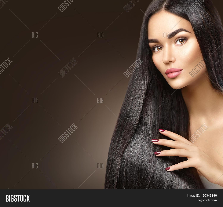 Beautiful Long Hair Image Photo Free Trial Bigstock