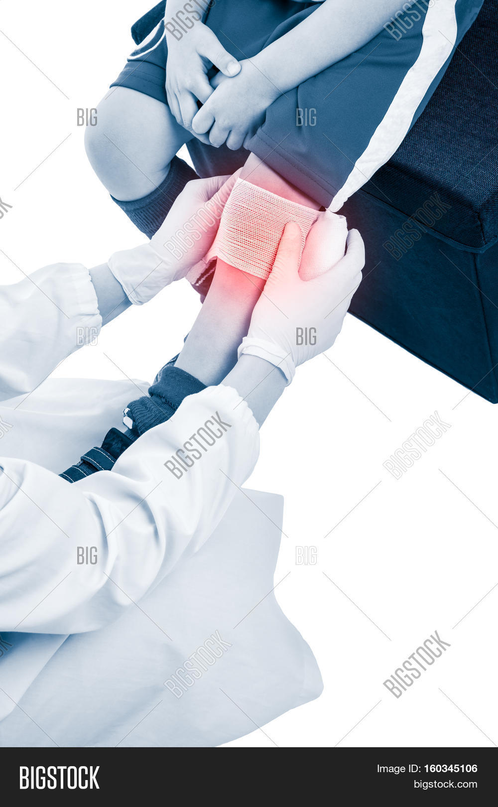 Sports Injury Doctor Image Photo Free Trial Bigstock