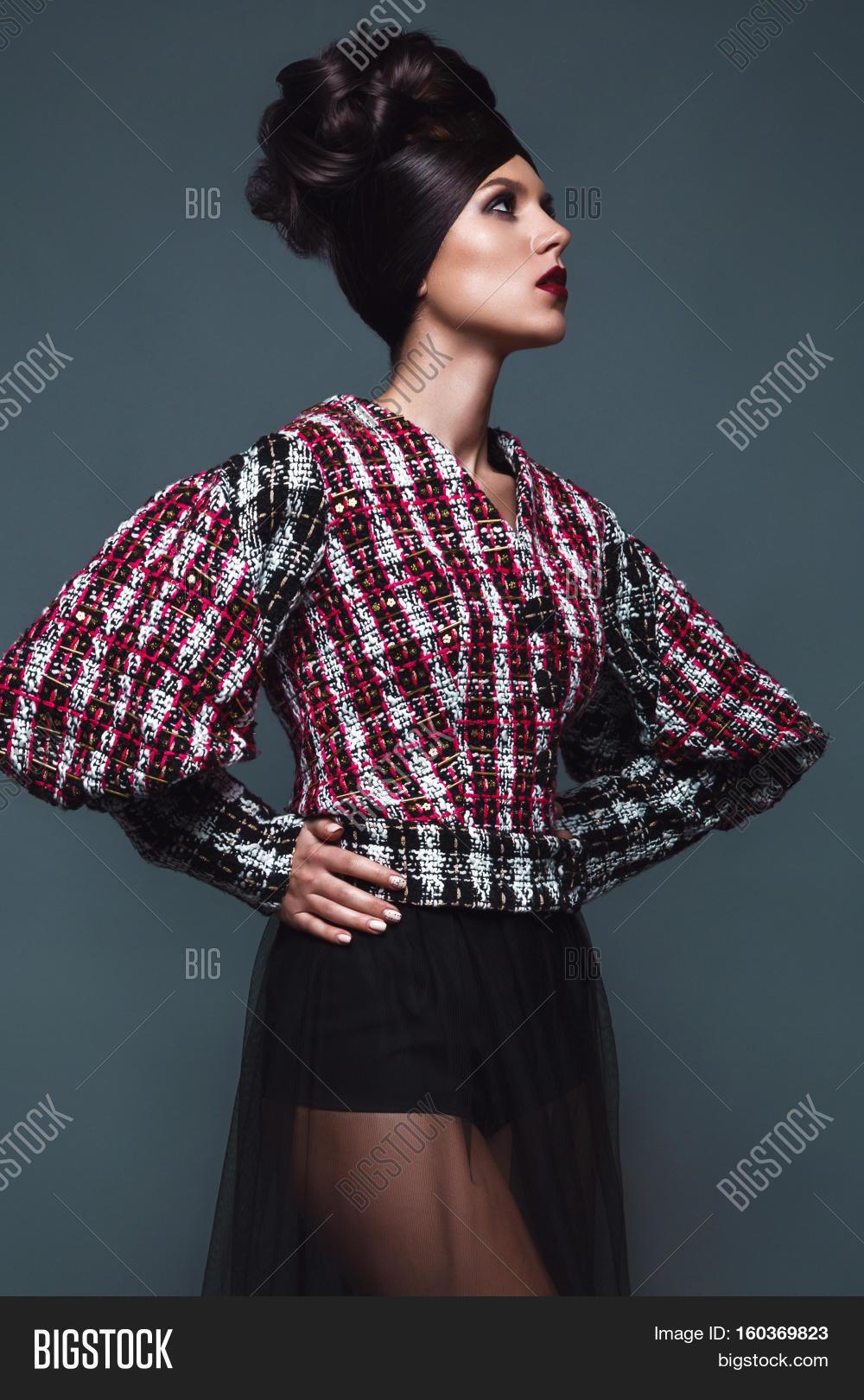Beautiful Girl Evening Image & Photo (Free Trial)   Bigstock