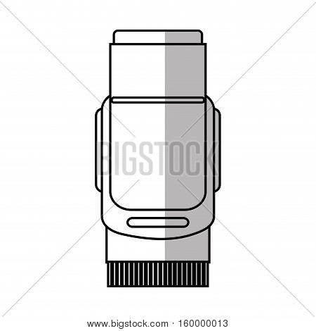 Shaver icon. Hair salon supply utensil and barbershop theme. Isolated design. Vector illustration