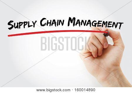 Hand Writing Supply Chain Management