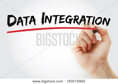 Hand Writing Data Integration With Marker