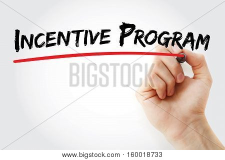 Hand Writing Incentive Program With Marker
