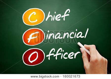 Hand Drawn Cfo - Chief Financial Officer