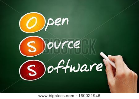Hand Drawn Oss Open Source Software