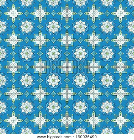 Eye-catching and innovative geometric floral pattern, perfect for fashion industry, home decor, textiles, paper products, prints etc.