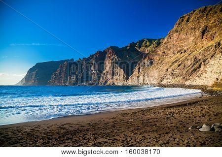 Beach Playa De Los Guios In Los Gigantes