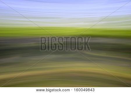 Abstract landscape taken with a long exposure