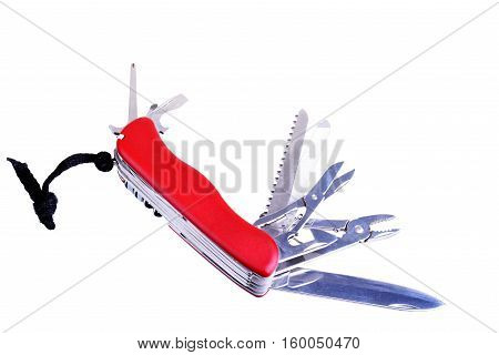 All purpose knife isolated on a white background