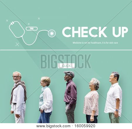Medical Check Up Healthcare Concept
