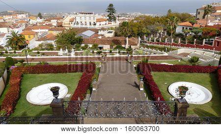 Jardin Victoria: Beautiful tropical botanical gardens in La Orotava town, Tenerife