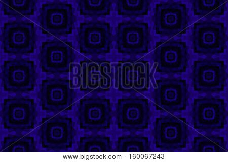 Dark and light blue spots. As the shadows on the snow. Seamless abstract vector pattern. Grunge background. Acute-angled elements squares spots and scratches
