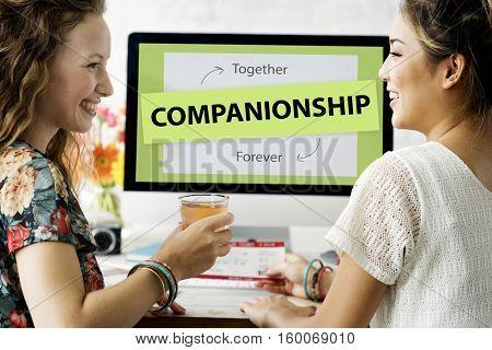 Best Friends Love Partnership