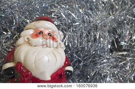 Decorative Santa Claus Decorate Merry Christmas and Happy New Year