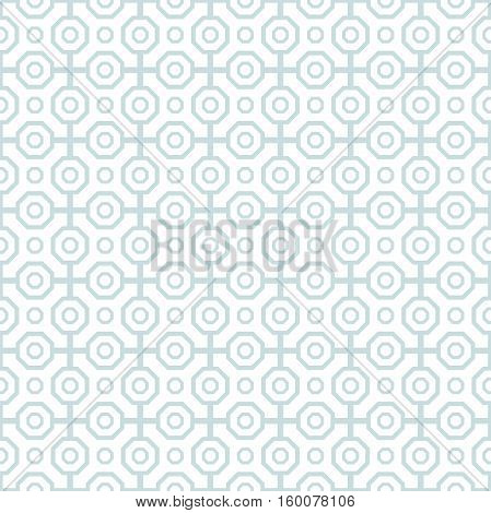 Geometric abstract vector octagonal background. Geometric abstract ornament. Seamless modern pattern