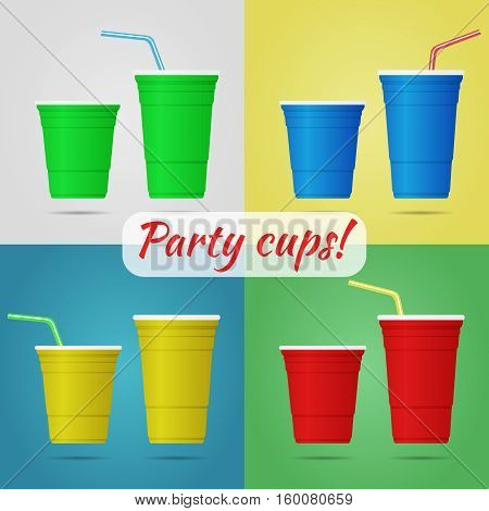 Plastic Party Cups