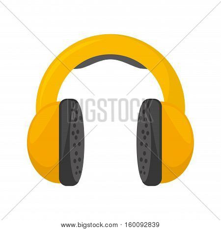 hearing protectionindustrial element vector illustration eps 10
