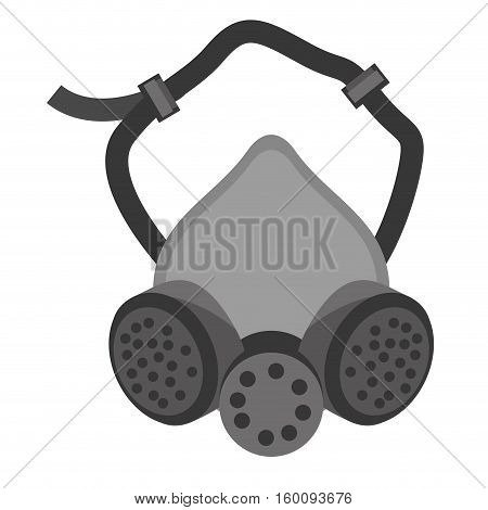 mask and respirator protective equipment vector illustration eps 10