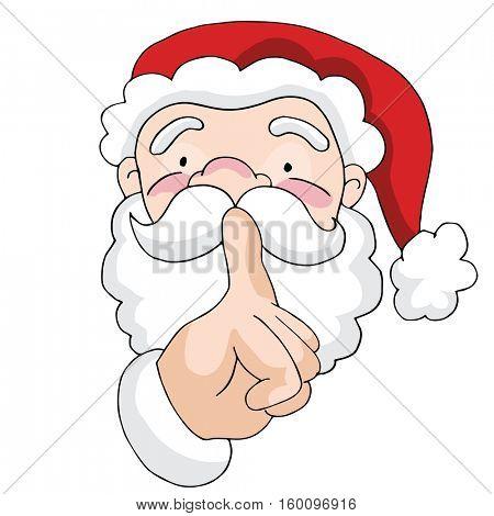 An image of a Secret Santa.