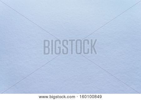 a Smooth homogeneous texture of snow background