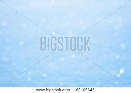 Real Snow sparkle defocused background - big size