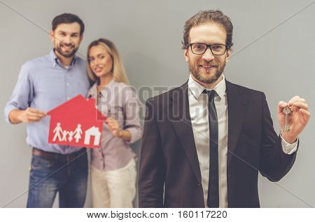 Couple And A Realtor