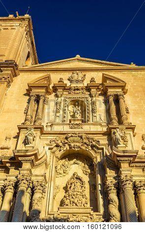 Basilica menor of Santa Maria in Elche - Spain