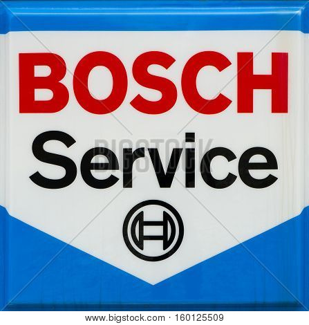 Bosch Service Sign And Logo
