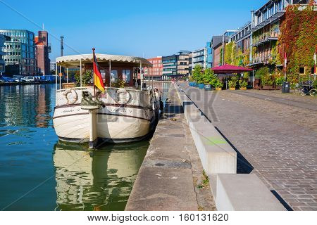 Waterfront Muenster In Muenster, Westphalia, Germany