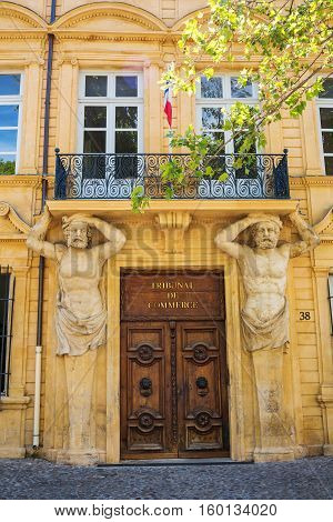 Tribunal De Commerce In Aix-en-provence, France