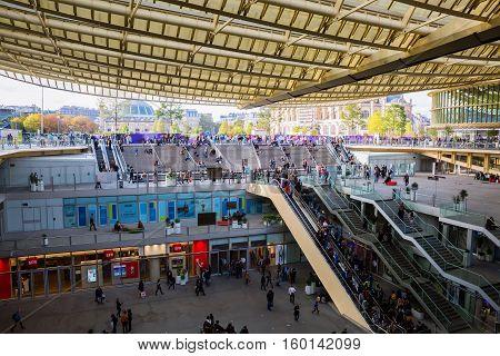 Forum Les Halles In Paris, France