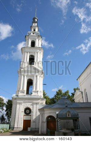 The Uspensky Cathedral Belltower