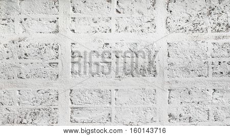 white background wall texture from brick and cement grunge color